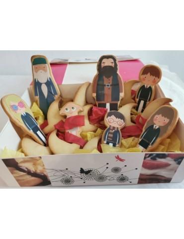 Caja de galletas de Harry...